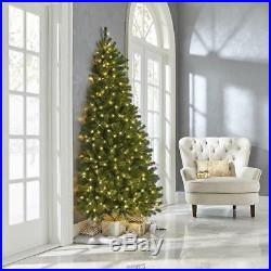 The Against The Wall Christmas Tree White lights 6.5