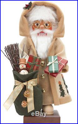 The Holiday Aisle Christian Ulbricht Nordic Santa Nutcracker
