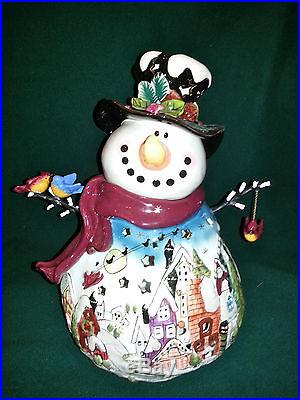 The Night Before Christmas Snowman By Blue Sky