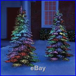 The Thousand Points of Light Tree Outdoor Christmas Holiday Decoration 7.5' Tall