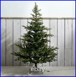 The White Company Pre-Lit Grand Spruce 6ft Artificial Xmas Tree Love Valentine