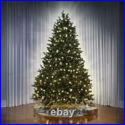 The World's Best Concolor Light Balsam Fir 7.5′ Full Christmas Tree White/Multi