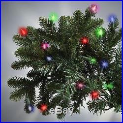 The World's Best Prelit Noble Fir 6.5′ Full 800 LED MULTICOLOR Christmas Tree