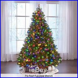 The Worlds Best Prelit 4.5 Full Douglas Fir Christmas Tree LED White light