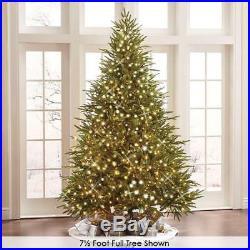 The Worlds Best Prelit Fraser Fir Chirtsmas Tree 12′ Full LED white Lights