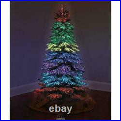 Thousand Points Of Light 6ft Christmas Tree Fiber Optic Indoor/Outdoor