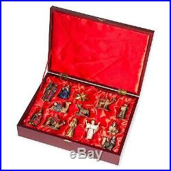 Three Kings Gifts Real Life Nativity Ornament Set