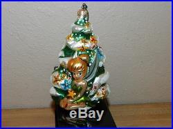 Tinkerbell Christopher Radko Walt Disney Gallery Christmas Ornament