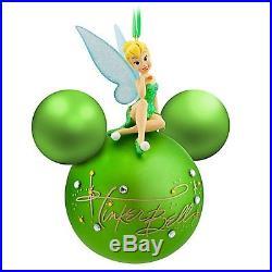 Tinkerbell Figurine Icon Ornament Christmas Holidays Disney Theme Parks NEW