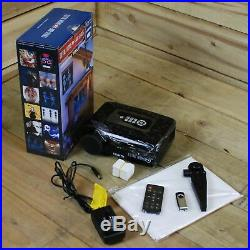 Total Home FX 800 Series Projector with Halloween & Christmas Videos Available