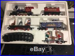ToystateHoliday Nutcracker Express Christmas Train Set with 5 Cars Plus Track