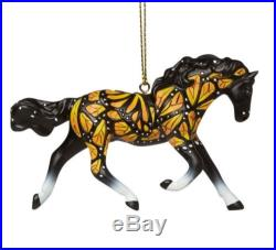 Trail of Painted Ponies Butterflies Run Free Horse Christmas Ornament 4046328