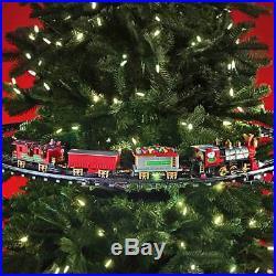 Train électrique pour le sapin de Noël