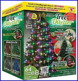 Tree Dazzler Christmas Light Show Xmas Holiday Decor Lightning Bulbs Party Home