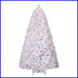 Treetopia Winter White 6 Foot Artificial Prelit Holiday Tree with Lights(Open Box)