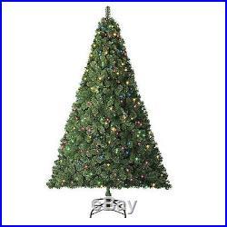 Trim A Home 6.5′ Pre-Lit Van Buren Pine Christmas Tree 68