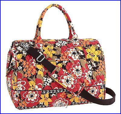 Vera Bradley Frame Travel Bag in Bittersweet