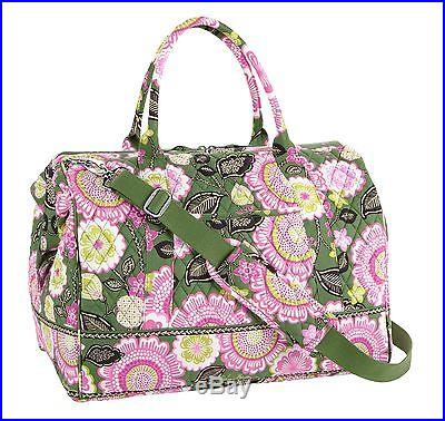 Vera Bradley Frame Travel Bag in Olivia Pink