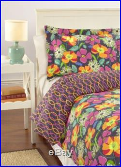 Vera Bradley Reversible Comforter Set Twin/XL in Jazzy Blooms
