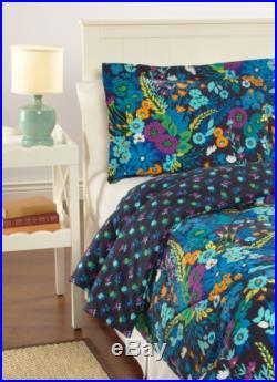 Vera Bradley Reversible Comforter Set Twin/XL in Midnight Blues