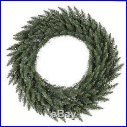 Vickerman 120 in. Camden Fir Wreath, Greens, 120 in