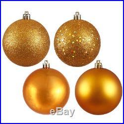 Vickerman Christmas Ball Ornaments with Cap Set of 4