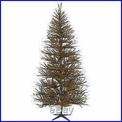 Vickerman Unlit Vienna Twig Artificial Christmas Tree 7′ NO VAT