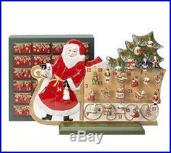 Villeroy&Boch Christmas Toys Memory Adventskalender Schlitten + Weihnachtsmann