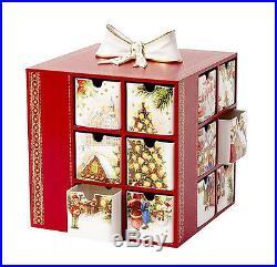 Villeroy&Boch Christmas Toys Memory Adventskalender Weihnachtsmarkt Schubkästen