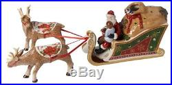 Villeroy & Boch Christmas Toys Schlitten Santas Geschenke 47 cm