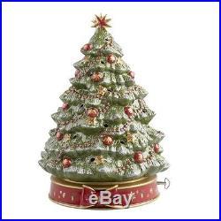 Villeroy & Boch Toy s Delight Weihnachtsbaum m. Spieluhr 33 cm