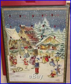 Villeroy Boch VB Nostalgic Ornaments Adventskalende m. Baum m. Ständer Orig 53136