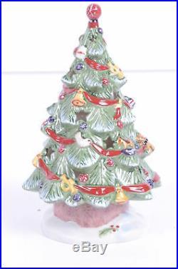 Villeroy & Boch Weihnachtsbaum Toy's Village Kerzenhalter top Zustand unbenutzt