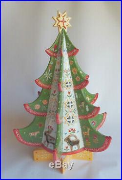Villeroy & Boch X-Mas Scandinavia großer Weihnachtsbaum Teelicht Stern