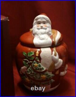 Villeroy & Boch v&b Festive Friends Santa Keksdose Weihnachtsmann ca. 28cm