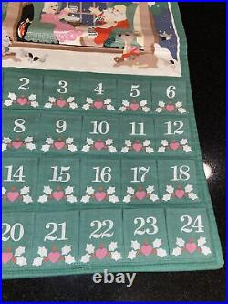 Vintage Avon 1987 Countdown to Christmas Advent Calendar with Mouse- Rare