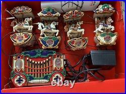Vintage MR CHRISTMAS HOLIDAY CAROUSEL Musical Christmas Tree Decoration