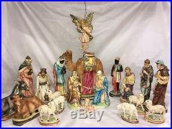 Vintage Nativity By Depositato Italy
