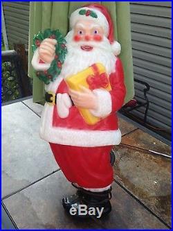 Vintage Noma Santa Clause Christmas Blow Mold