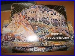 Vintage Pifco 20 Cinderella Lights in original box in fully working order