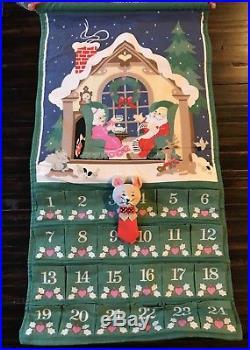 Vintage/Retro 1987 Avon Countdown To Christmas Advent Calendar + Original Bag NR