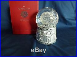 WATERFORD 2015 Times Square SNOW GLOBE New in Box 2 Available