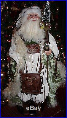 Wayne Kleski Santa 35 Inches Schlittenglocken Opa