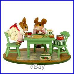 Wee Forest Folk Christmas Figurine M-466 Christmas Cookie Class
