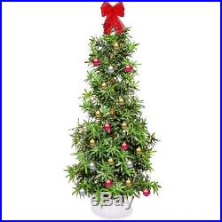 Weed Marijuana Leaf Artificial Christmas Tree