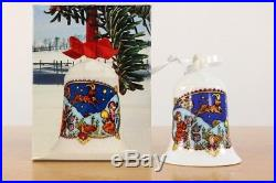 Weihnachts Glocke 1979 Hutschenreuther Porzellan OVP Christmas Bell