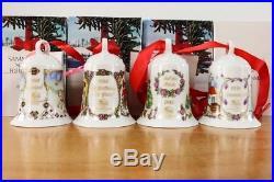 Weihnachts Glocke 1991 92 93 94 Hutschenreuther Porzellan Campanella di Natale