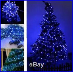 White 10M 100 LED Bulbs Christmas Xmas Wedding Party Outdoor Fairy String Lights