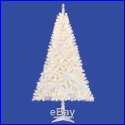 White 6.5ft Pre-Lit Madison Pine Artificial Christmas Tree 350 Lights
