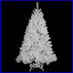 White Christmas Tree Artificial Pine Bushy Outdoor Xmas Home Decoration 8FEET UK